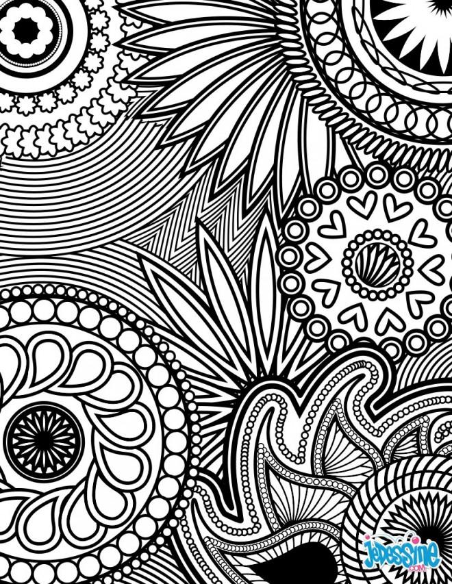 Coloriage et dessins gratuits Relaxant thérapie à imprimer