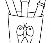 Coloriage et dessins gratuit Rentrée Maternelle 28 à imprimer