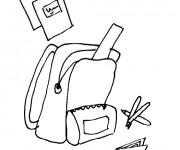 Coloriage et dessins gratuit Rentrée Maternelle 33 à imprimer