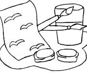 Coloriage et dessins gratuit Rentrée Maternelle 48 à imprimer