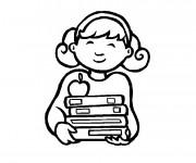 Coloriage et dessins gratuit Rentrée Maternelle 49 à imprimer