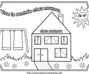 Coloriage et dessins gratuit Rentrée Maternelle 53 à imprimer