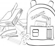 Coloriage et dessins gratuit Rentrée Maternelle 55 à imprimer