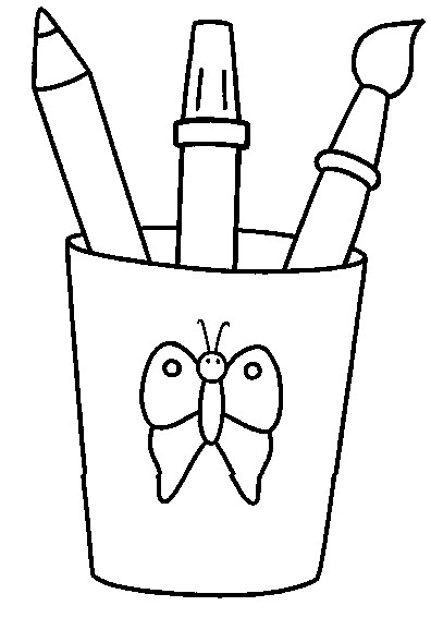 Coloriage et dessins gratuits Rentrée Scolaire en ligne à imprimer