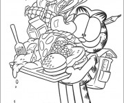 Coloriage dessin  Garfield 42