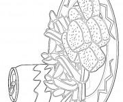 Coloriage et dessins gratuit Nourriture Repas à imprimer