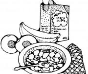 Coloriage et dessins gratuit Repas et Nutrition à imprimer
