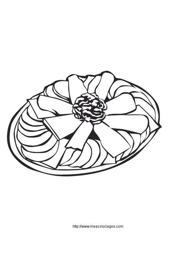 Coloriage et dessins gratuits Repas facile à imprimer