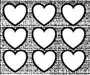 Coloriage et dessins gratuit Coeur en ligne à imprimer