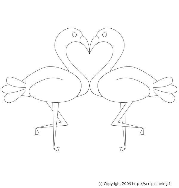 Coloriage et dessins gratuits Coeur en signes à imprimer