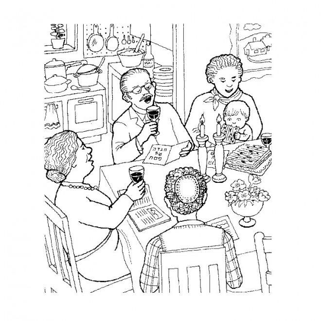 Coloriage et dessins gratuits Manger maternelle à imprimer