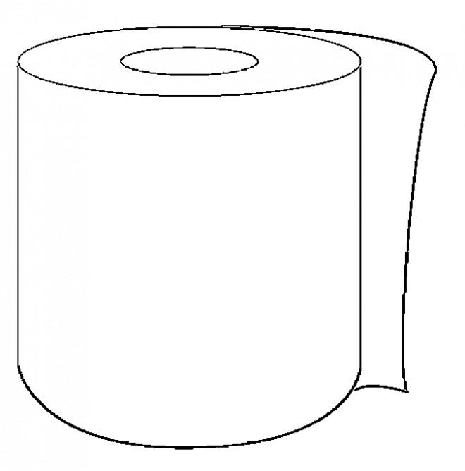 Coloriage et dessins gratuits Salle de Bain Papier de Toilette à imprimer