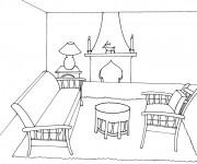 Coloriage dessin  Maison 70