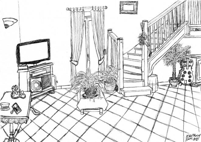 Coloriage et dessins gratuits Salon maternelle à imprimer