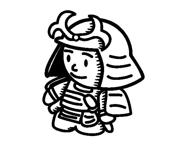Coloriage et dessins gratuits Le Petit Samourai à imprimer