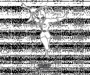 Coloriage Power Ranger Samourai à découper