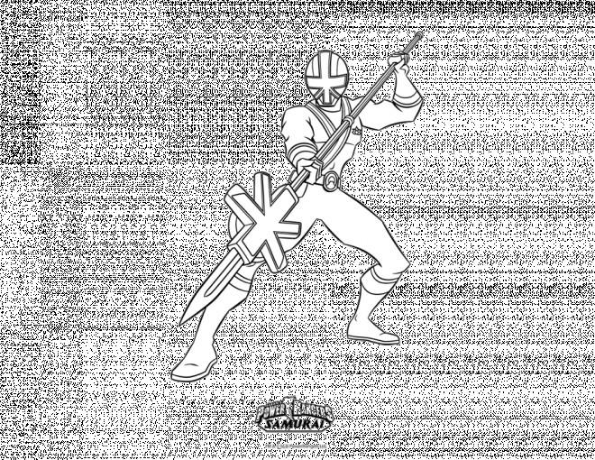 Coloriage et dessins gratuits Power Rangers à imprimer