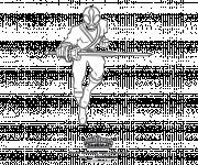 Coloriage Samourai de Power Rangers