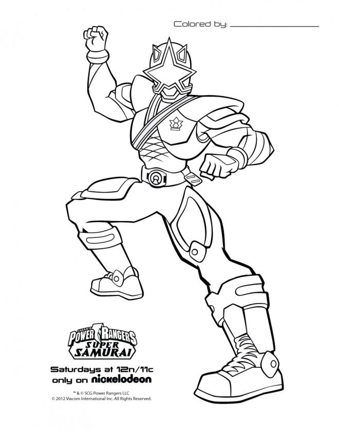 Coloriage et dessins gratuits Samourai de série pour Enfant à imprimer