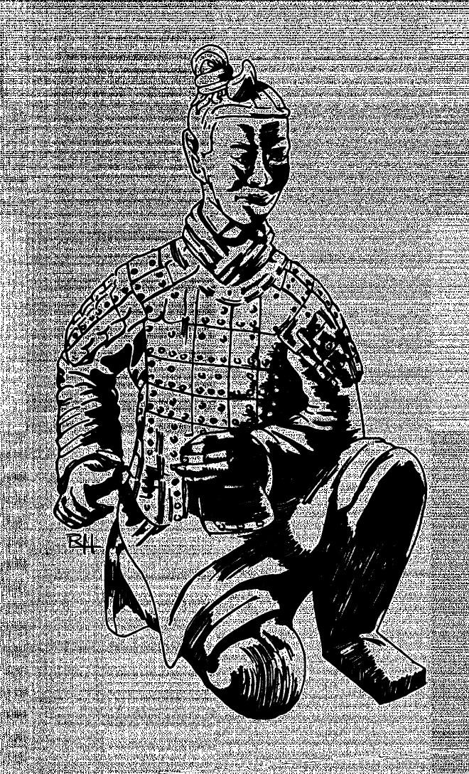 Coloriage et dessins gratuits Samourai japonais originale à imprimer