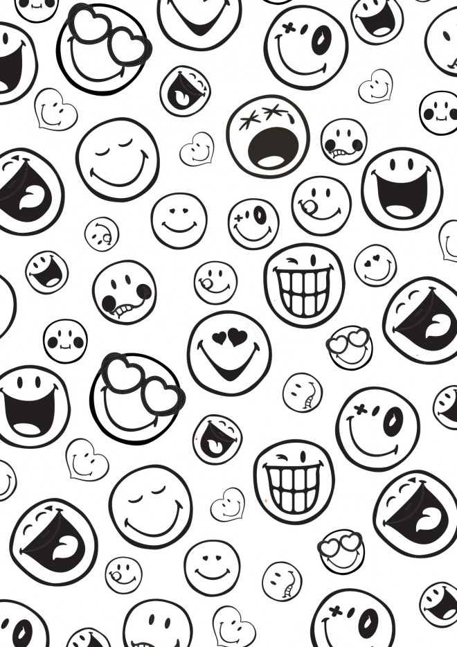 Coloriage emoji en couleur dessin gratuit imprimer - Coloriage de smiley ...
