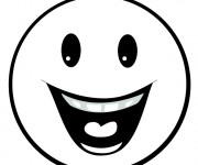 Coloriage dessin  Smiley 13