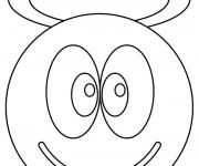Coloriage dessin  Smiley 3