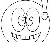 Coloriage dessin  Smiley 6