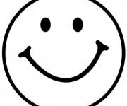 Coloriage dessin  Smiley 9