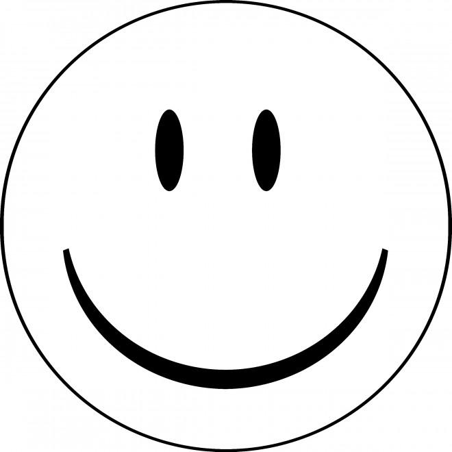Coloriage et dessins gratuits Smiley à colorier à imprimer