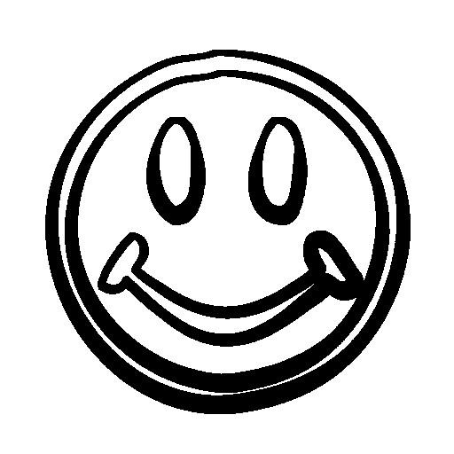 Coloriage Smiley Content Dessin Gratuit A Imprimer