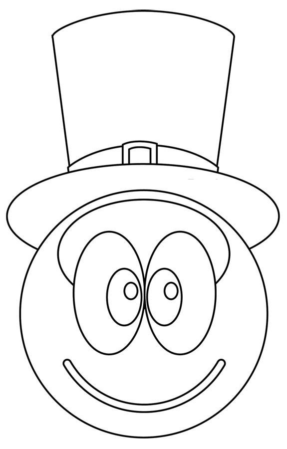Coloriage et dessins gratuits Smiley Sam à imprimer