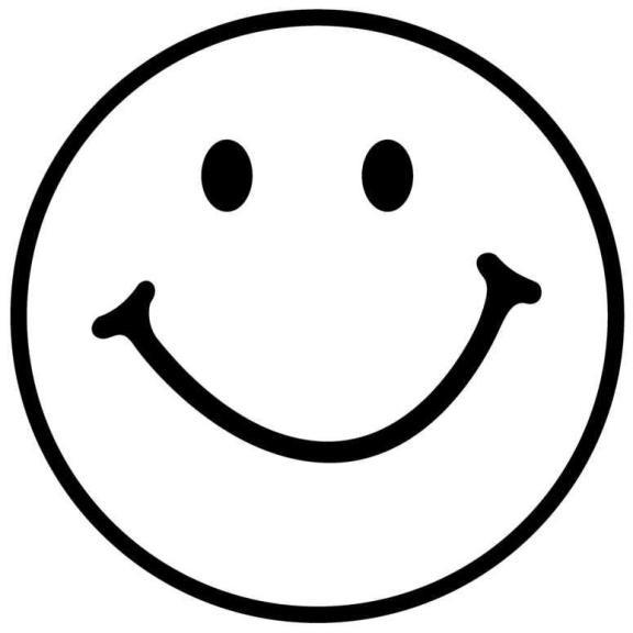 Coloriage Smiley Sourire Facile Dessin Gratuit A Imprimer