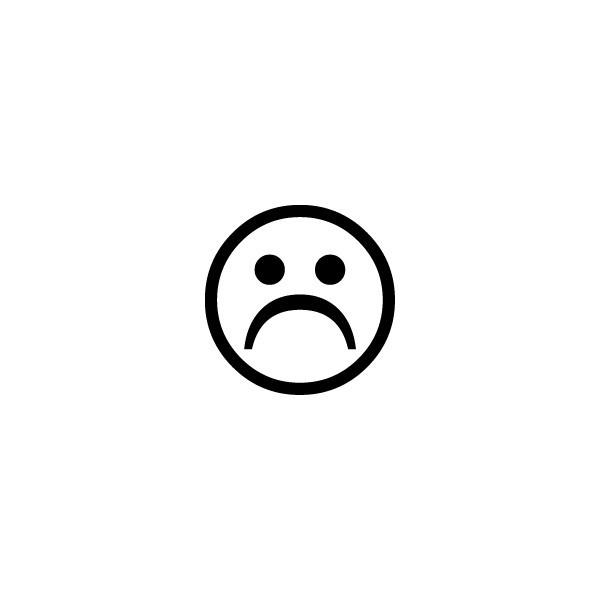Coloriage et dessins gratuits Smiley triste à imprimer