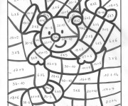 Coloriage et dessins gratuit Addition multiplication à imprimer