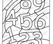 Coloriage et dessins gratuit Magique équations de Math à imprimer
