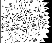 Coloriage Tag Love