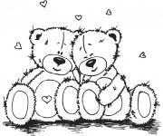 Coloriage dessin  Amour 44