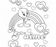 Coloriage Amour Disney