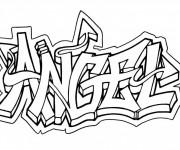 Coloriage Art Graffiti en ligne