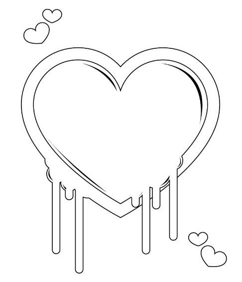 Dessin Coeur Amour Facile