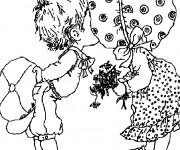 Coloriage et dessins gratuit Sarah Kay en ligne à imprimer