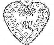 Coloriage Tag Love en ligne
