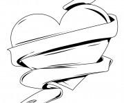 Coloriage Tag Love facile