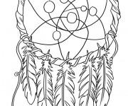 Coloriage Décoration de Tatouage