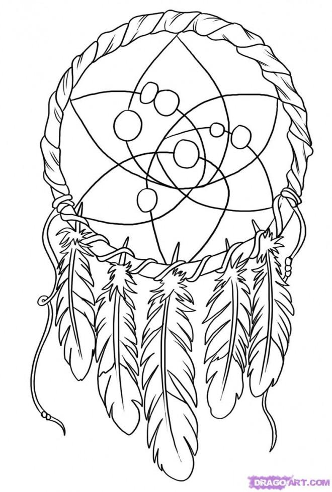 Coloriage et dessins gratuits Décoration de Tatouage à imprimer