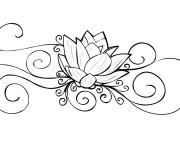 Coloriage Tatouage Anti-Stress