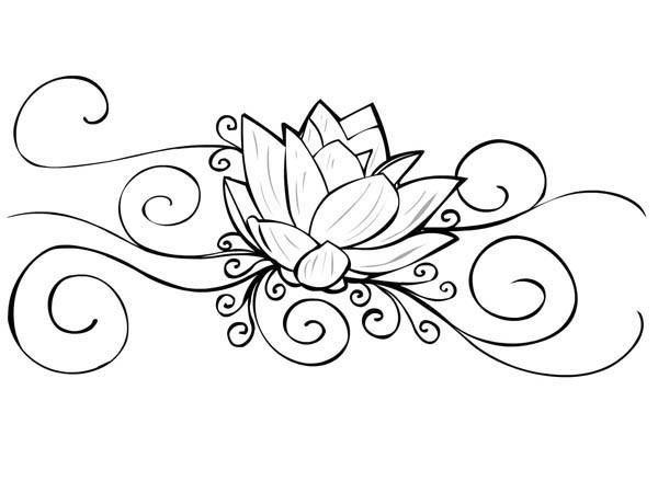 Coloriage et dessins gratuits Tatouage Anti-Stress à imprimer
