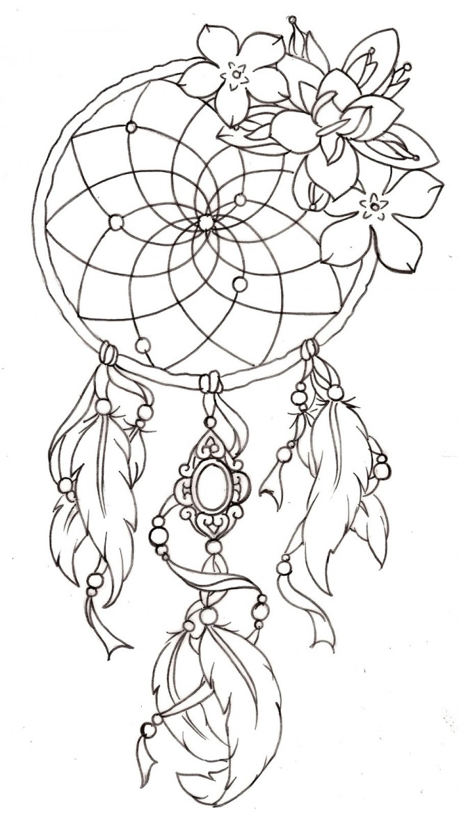 Coloriage et dessins gratuits Tatouage au crayon à imprimer