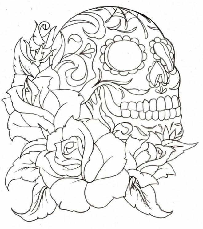 Coloriage et dessins gratuits Tatouage en téléchargement à imprimer